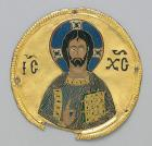 medallion from an icon frame, ca